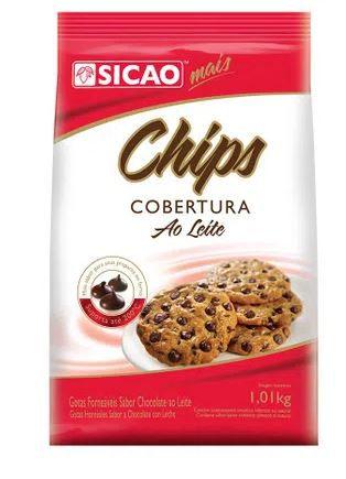 Chips Forneáveis Sicao Ao Leite 1,05Kg