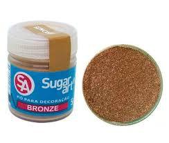 Pó p/ Decoração Sugar Art Bronze 3 g