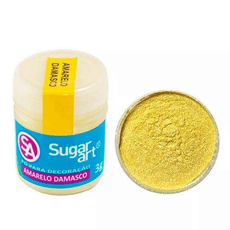 Pó p/ Decoração Sugar Art Amarelo Damasco 3 g