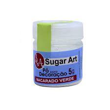 Pó p/ Decoração Sugar Art Nacarado Verde 3 g