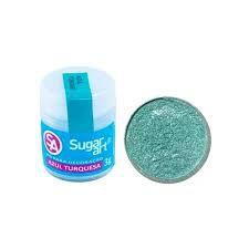 Pó p/ Decoração Sugar Art Azul Turqueza 3 g