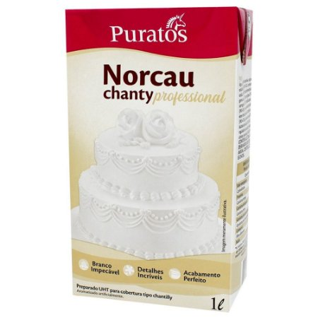 Chantilly Norcau Profissional Puratos 1L