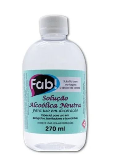 Solução Alcoolica FAB 270ml