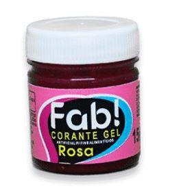 Corante Gel Rosa FAB 15 g