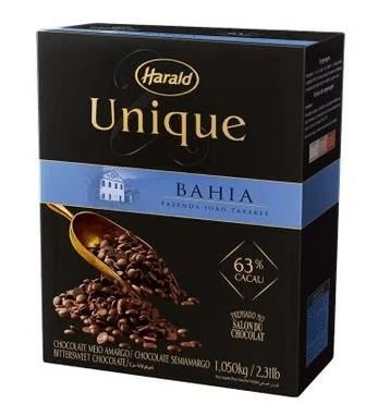 Chocolate Unique Meio amargo 63% Cacao Gotas 1,05 Kg