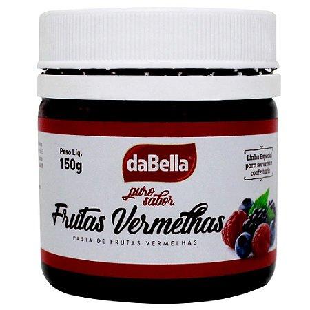 Pasta Saborizante Frutas Vermelhas Dabella 150 g