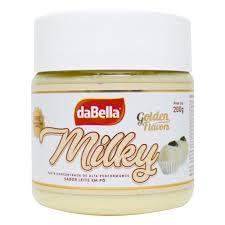 Pasta Saborizante Milky 200 g Dabella