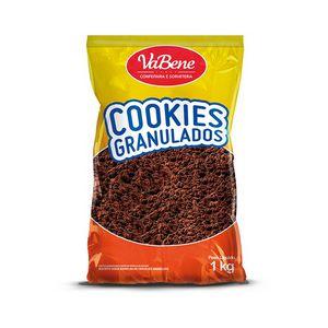 COOKIES GRANULADO SABOR CHOCOLATE 1,0KG VABENE