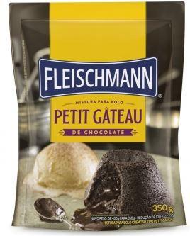 Mistura para Bolo Petit Gâteau de Chocolate 350 g Fleischman