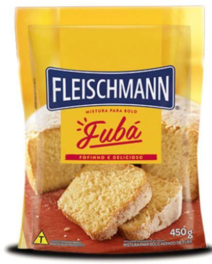 Mistura para BOLO FUBA 450g Fleischmann
