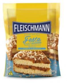 Mistura para Bolo FESTA BAUNILHA 450G Fleischmann