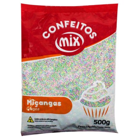 MIÇANGA CONFEITO 500G CANDY COLORS COLORIDA