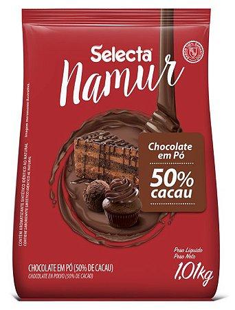 Chocolate em pó 50% Cacau Selecta Namur 1,01 kg