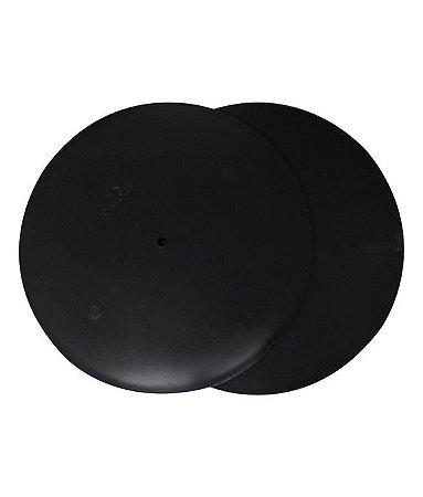 Disco para ganache preto 26 cm (2 unidades)