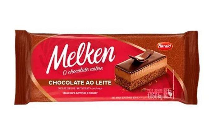 Chocolate Ao Leite Melken Barra 1,050 Kg