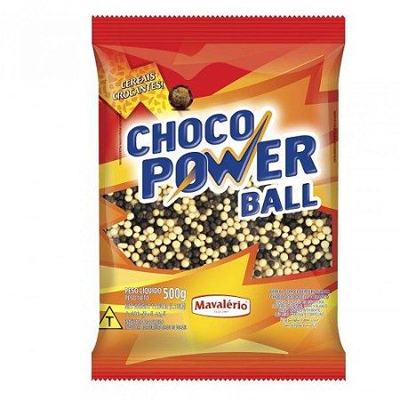 MINI CEREAL LEITE/BRANCO CHOCO POWER BALL 500 G