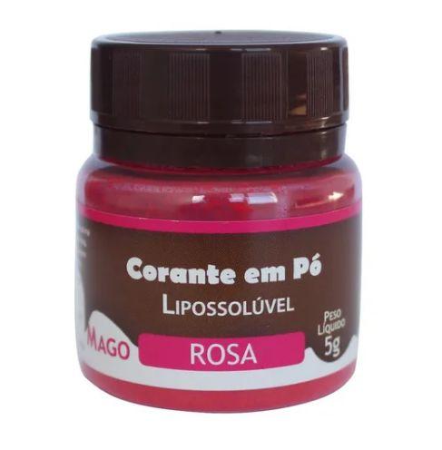 Corante p/ Chocolate em Pó Rosa 5 g Mago