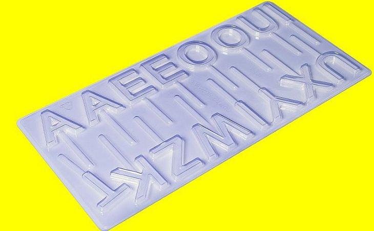 Forma de Acetato Pirulito Alfabeto II Porto Formas