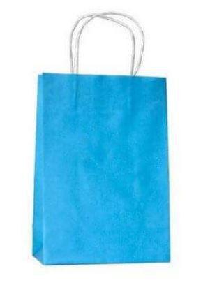 Sacola Azul Céu 17,5 x 8,5 x 21,5 cm Pct c/10