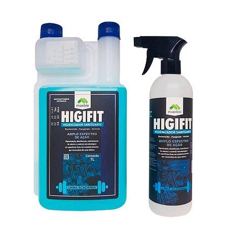 Higifit Higienizador Sanitizante e Aplicador Pulverizador