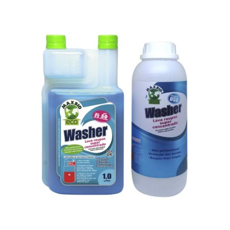 Washer ECO Sabão Lava Roupas + Refil