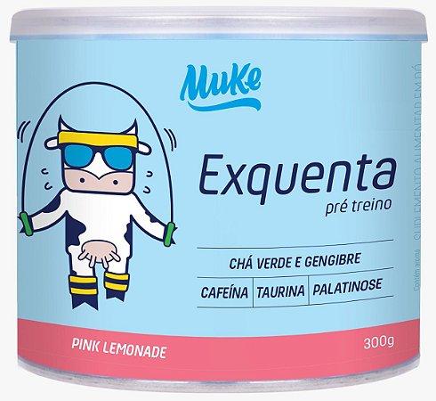 EXQUENTA MUKE (PRÉ-TREINO) - PINK LEMONADE 300G | MUKE SUPLEMENTOS