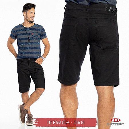 Bermuda Jeans Biotipo Masculina Com Elastano - 25610