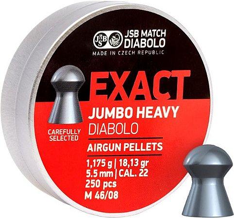 Chumbo JSB EXACT JUMBO HEAVY 5.5 DIABOLO C/250