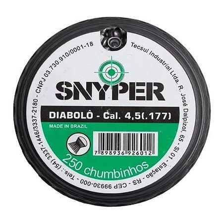 Chumbo Snyper 4.5 c/250