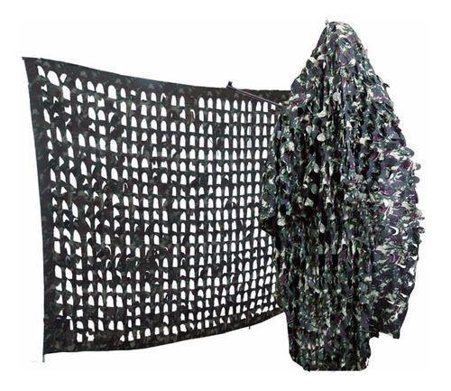 Rede Camuflagem em Nylon