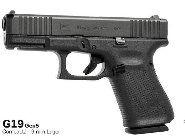 Pistola GLOCK G19 Gen5  9mm Luger