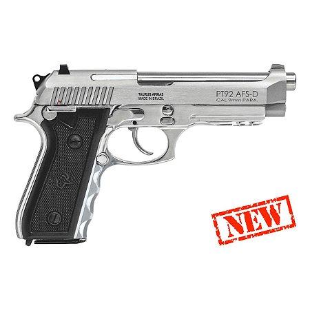 Pistola Taurus 9mm 92 AFS-D 17+1 tiros inox