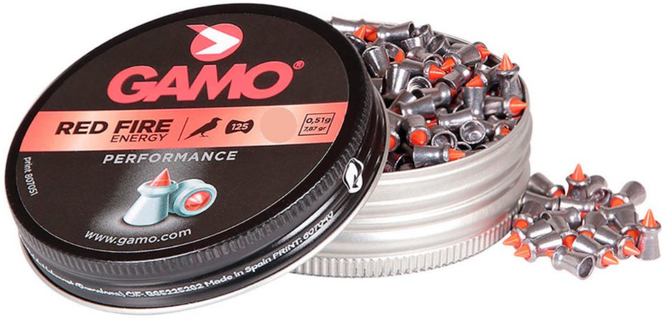 Chumbo Gamo Red Fire 4.5 C/125