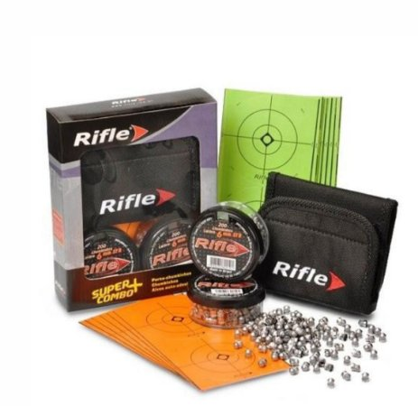 Chumbo RIFLE 4.5 combo - super box C/500