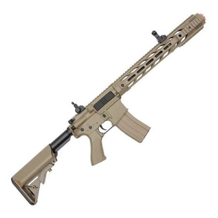 Rifle airsoft AEG M4 SALIENT 6mm CM518 tan - CYMA