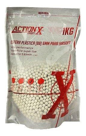 BBS munição ACTION-X 6mm 28g 3.600un branca