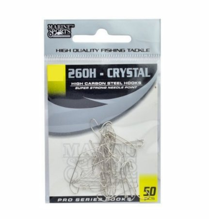 Anzol marine sports crystal 260 nikel ctl c/50
