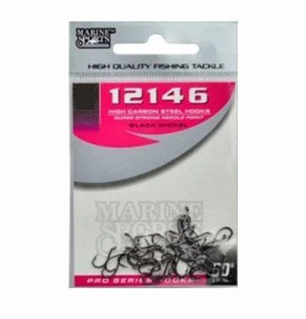 Anzol marine sports 12146 black nikel ctl c/50
