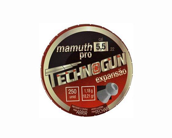 Chumbo Technogun Mamuth Pro 5.5 c/125