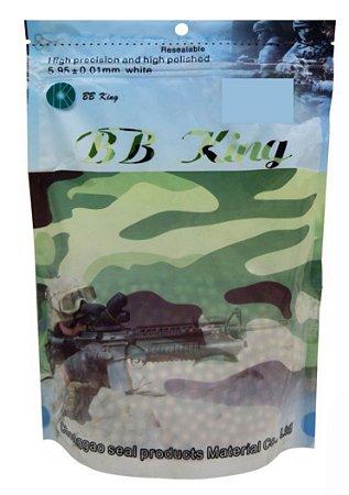 BBS munição BB KING 6mm 25g 3000 branca