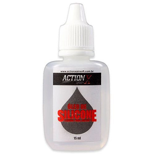 Óleo silicone 15ml airsoft ACTION