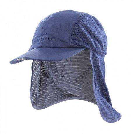 boné legionário 5 leds c/protetor azul nautika