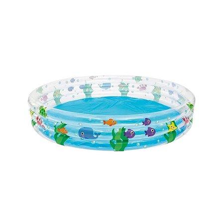piscina inflável 480lt deep dive