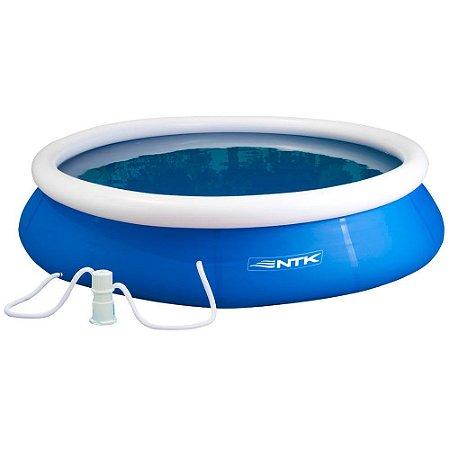 piscina combo 2600l + filtro 110v nautika