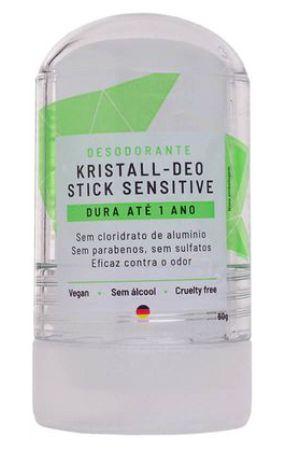 Desodorante Stick Kristall Sensitive 60g – Alva