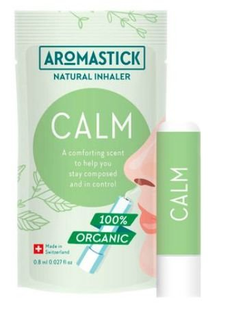 Inalador Nasal Orgânico Natural Calmante Aromastick - Calm