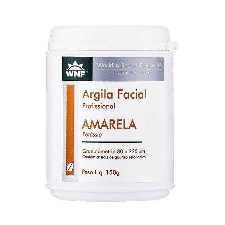 Argila Facial Profissional Amarela 150g – WNF