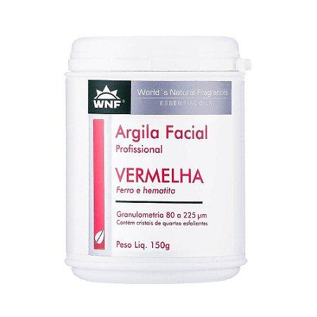 Argila Facial Profissional Vermelha 150g – WNF