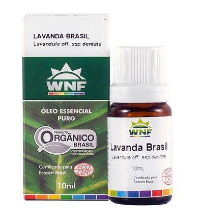 Óleo Essencial Orgânico de Lavanda Brasil 10ml - WNF