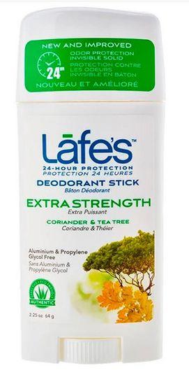 Desodorante Natural Twist Extra Strength 64g - Lafe's